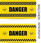 danger sign.    Shutterstock . vector #428417008