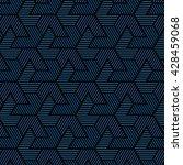 geometric pattern of... | Shutterstock .eps vector #428459068