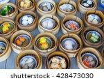 Various Dim Sum In Bamboo...