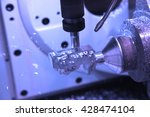 cutting metal parts processing... | Shutterstock . vector #428474104