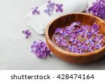 spa and  wellness composition... | Shutterstock . vector #428474164