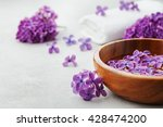 spa and  wellness composition... | Shutterstock . vector #428474200