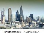london skyline. | Shutterstock . vector #428484514
