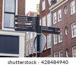amsterdam  netherlands on april ... | Shutterstock . vector #428484940
