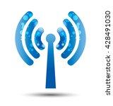 internet wireless technology....   Shutterstock .eps vector #428491030