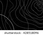 black abstract weather map.... | Shutterstock .eps vector #428518096