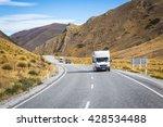 lindis pass new zealand april... | Shutterstock . vector #428534488