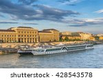 river cruise boats on the... | Shutterstock . vector #428543578
