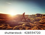 hike in the utah mountains | Shutterstock . vector #428554720