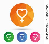 female sign icon. woman sex...   Shutterstock .eps vector #428560906