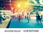 abstract blurred event with... | Shutterstock . vector #428585488
