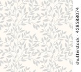 floral seamless pattern can be... | Shutterstock .eps vector #428588074
