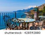 traditional mediterranean... | Shutterstock . vector #428592880