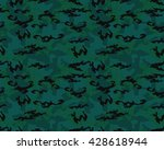 fashionable camouflage pattern  ... | Shutterstock .eps vector #428618944