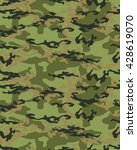 fashionable camouflage pattern  ... | Shutterstock .eps vector #428619070