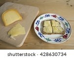 Sliced Bread With Dutch Cheese