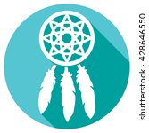 native american indian talisman ... | Shutterstock .eps vector #428646550