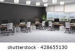 office interior. 3d illustration | Shutterstock . vector #428655130