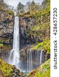 kegon falls  one of highest... | Shutterstock . vector #428657230
