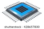 modern central computer... | Shutterstock . vector #428657830