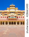 chandra mahal palace  city... | Shutterstock . vector #428661400