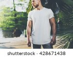 photo bearded muscular man... | Shutterstock . vector #428671438
