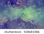multicolored creative abstract... | Shutterstock . vector #428681086