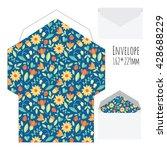 vector envelope template | Shutterstock .eps vector #428688229