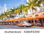 miami  florida   view along...   Shutterstock . vector #428693350