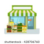 Fruit And Vegetables Shop....