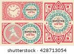 baroque cards set | Shutterstock .eps vector #428713054