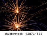 close up of colorful fireworks... | Shutterstock . vector #428714536