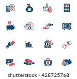 money web icons for user... | Shutterstock .eps vector #428725768