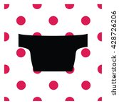 lingerie. bra. underwear.crop... | Shutterstock .eps vector #428726206