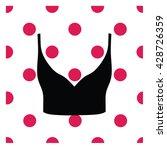 lingerie. bra. underwear.  crop ... | Shutterstock .eps vector #428726359