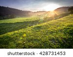 morning in thailand | Shutterstock . vector #428731453