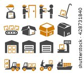 pack  package  packaging icon... | Shutterstock .eps vector #428731840