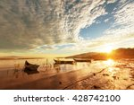 the fishing boats in mexico   Shutterstock . vector #428742100
