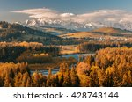 Beautiful Autumns Panorama Ove...