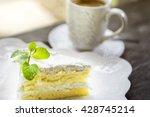 coconut cake | Shutterstock . vector #428745214