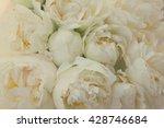 Bouquet Of Fresh White Peony...