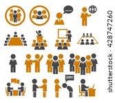 human office | Shutterstock .eps vector #428747260