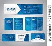banner  flyers  brochure ...   Shutterstock .eps vector #428748574