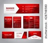 banner  flyers  brochure ... | Shutterstock .eps vector #428748580
