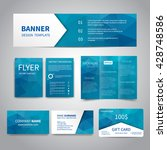 banner  flyers  brochure ... | Shutterstock .eps vector #428748586