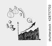 sketch icon. creative concept.  ... | Shutterstock .eps vector #428757703