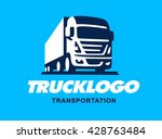 truck illustration. logo design   Shutterstock .eps vector #428763484