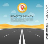 Road To Infinity Highway  Road...