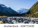 a beautiful scenery of a peak... | Shutterstock . vector #428772430