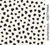 seamless monochrome pattern... | Shutterstock .eps vector #428774464
